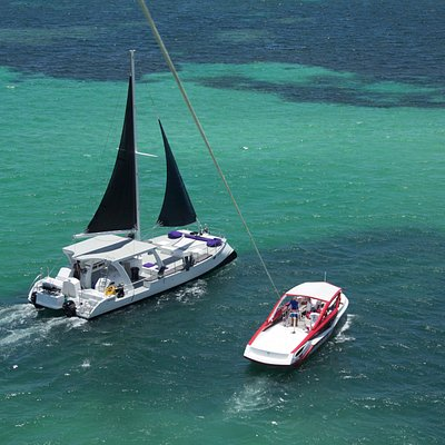 New Catamaran & New Parasailing