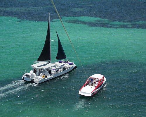 New Catamaran & New Parasailing