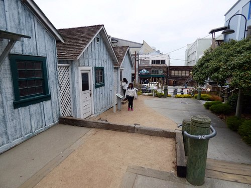 3 historical houses cross Cannery Row from Rick's lab
