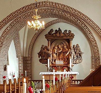 Alteret i Skjold kirke