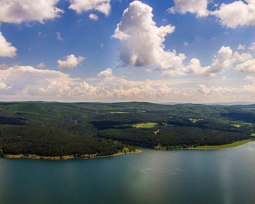 Iskar Lake from above