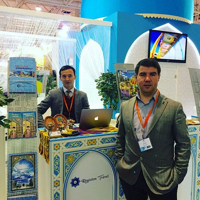 Registon Travel at an International Travel and Tourism Exhibition