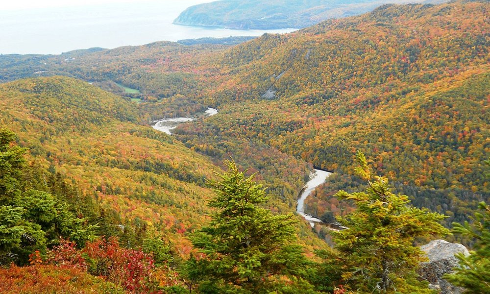 Franey view of the valley below