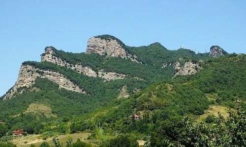 Le rocce del Monte Ascensione