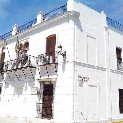 Fachada Casa natal Juan Ramón Jiménez