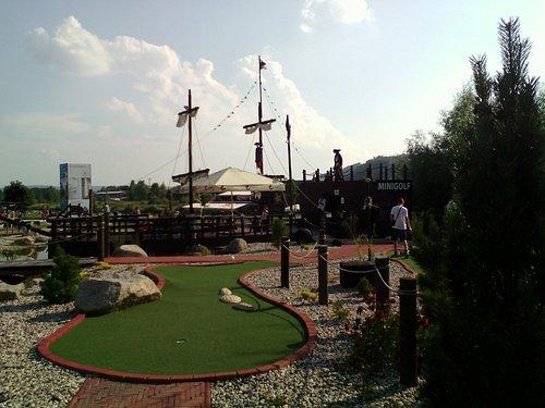 Minigolf - Pirati park
