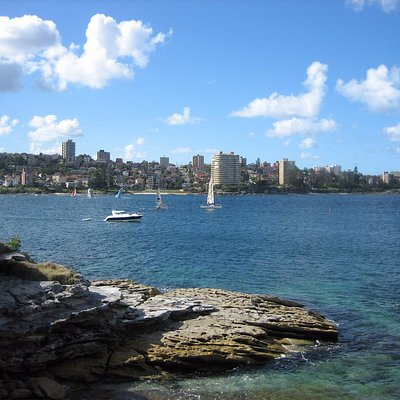 View of Manly seen from Dobroyd Head, part of Sydney Harbour National park
