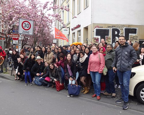 We went to the former German capital Bonn for the Cherry Blossom Festival with 80 people!