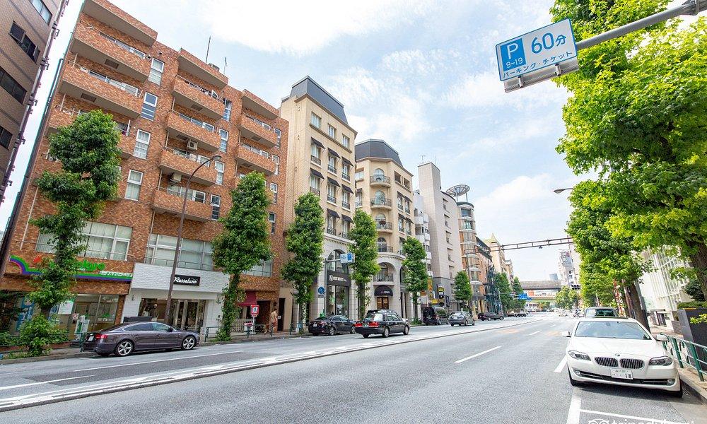 Street at the APA Hotel Nishi Azabu