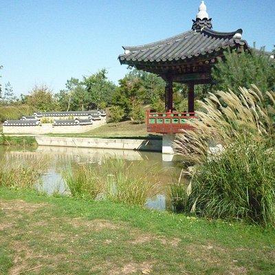 Jardin coréen du Parc du Grand Blottereau