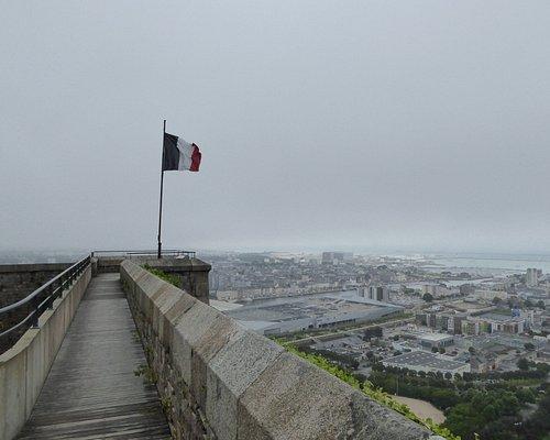 Musée de la Libération - vue de Cherbourg