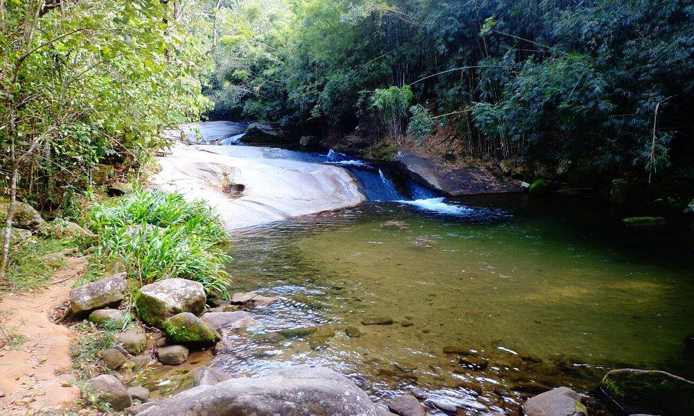 Está Cachoeira é na Cidade de Sana muito linda