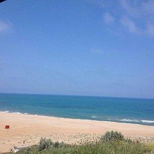 Güzel,ücretsiz açık bir plaj...