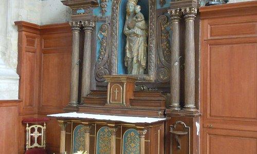 Le retable de la Vierge