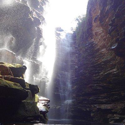 Cachoeira Mixila, trekking de dois dias pela chapada diamantina