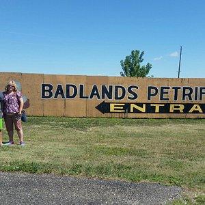 Badlands Petrified Gardens