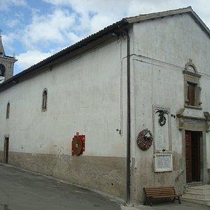 Vista complessiva della chiesa di Sant'Agata