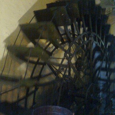 Mulino in funzione a Borghetto