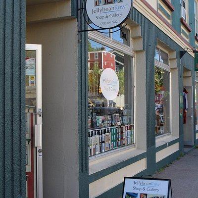 Jellybean Row facade