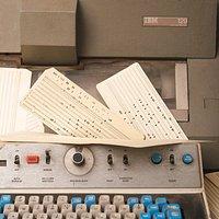Perforatrice di schede IBM 129, 1971