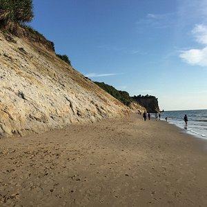 Part of Tusan Beach..