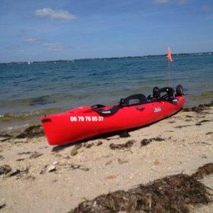 kayak a pedales