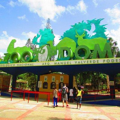 entrée du zoo