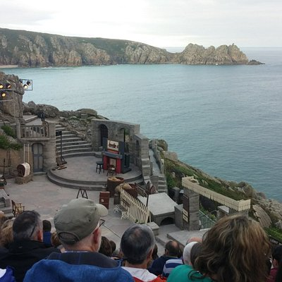 Stunning outdoor theatre in Penzance, Cornwall, England