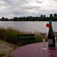 Dégustation au bord de Loire
