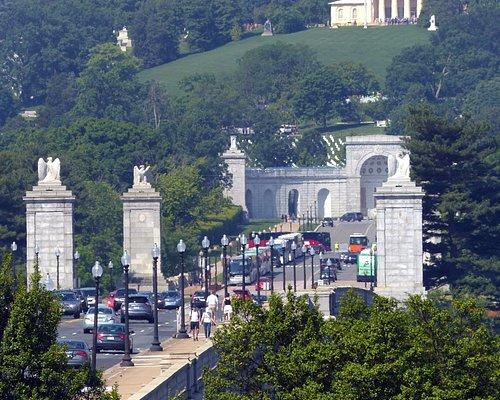 Arlington Memorial Bridge - viewed from D.C. side