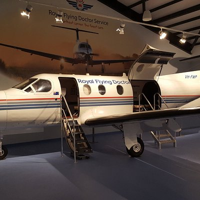Decommissioned RFDS Pilatus PC 12 aircraft, completely aero medically equipped