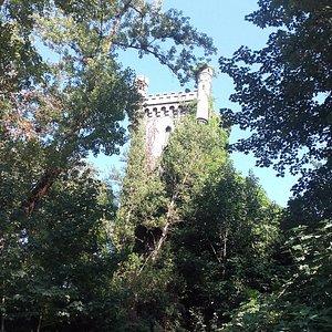 Una de las torres