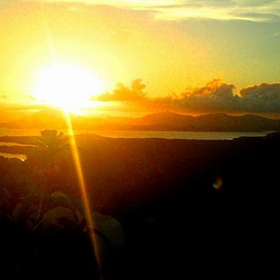 Sunset at the top of Mt. Turing