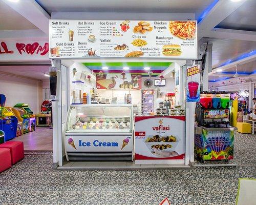 Τhat you want to find in our cafe ! Coffee, sweets , food and ice cream