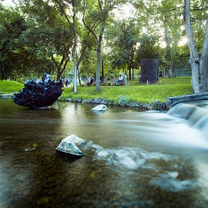 """Park's waterfall and the """"Obsidian Heart"""""""