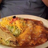 No. 8 - Tamale, Enchilada, Taco and Tostada