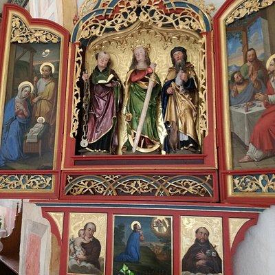 Gotische Kapelle Zell, Oberstaufen