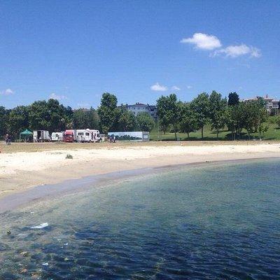 Halk plajı...