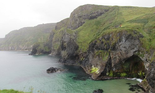 Scary Carrick - a Rede rope bridge!