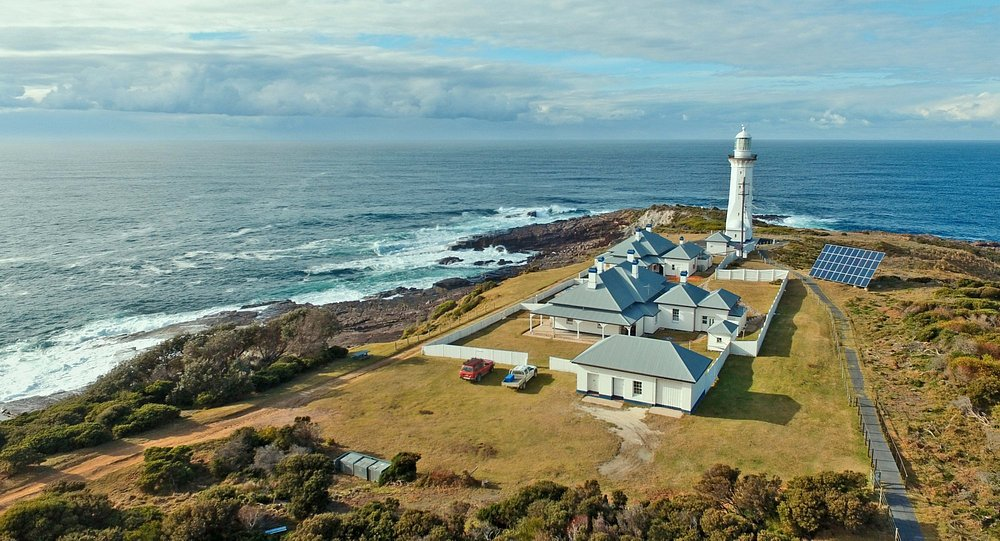 Green Cape lighthouse taken with a Dji Phantom 3 pro