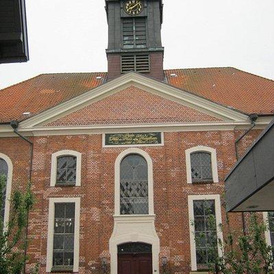 Eingangsseite der Petri-Kirche in Ratzeburg
