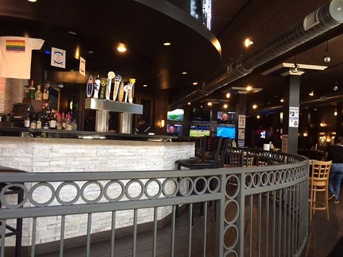 BIggest bar at Ale House