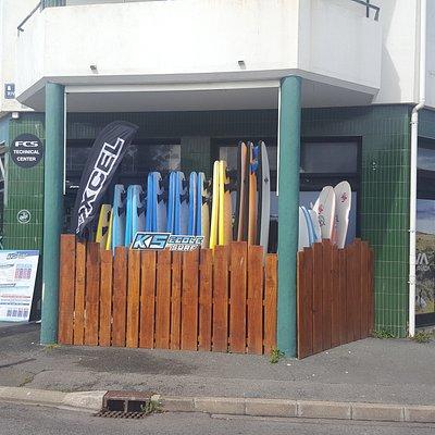 ks école de surf
