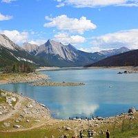 panorama de la tête du lac