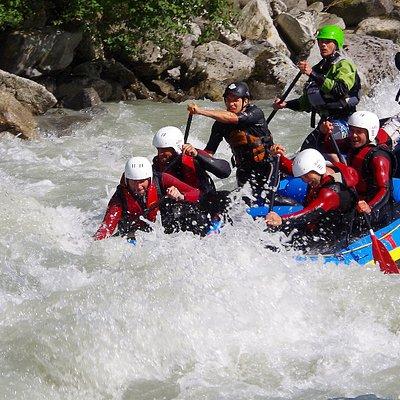 rafting und canyoning in tirol österreich