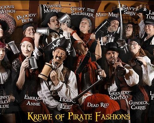 Crew members of Pirate Fashions