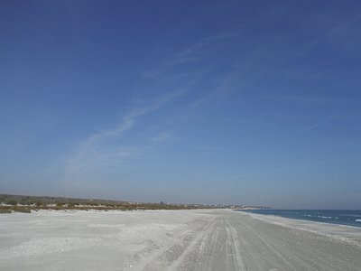 April 2016. The south beach of Corbu (second beach, less popular)