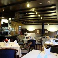Main Dining Area of the Alpinpark Restaurant