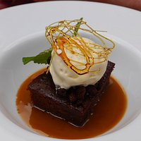 sticky toffee and ginger