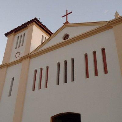 Frente da igreja
